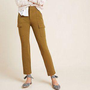 Anthropologie Khaki Essential Knit Cargo Pants NWT